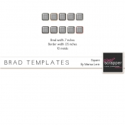 Brad Set #2 Medium Square Kit