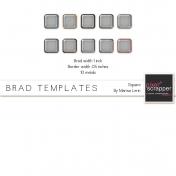 Brad Set #2 Large Square Kit
