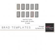 Brad Set #2 Rectangle Kit