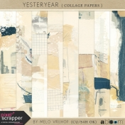 YesterYear- Collage Papers