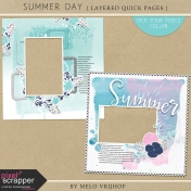 Summer Day- Layered Quick Pages
