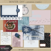 Winter Day- Journal Cards