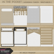 In The Pocket- Writable Journal Cards