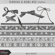 Ribbons & Bows #02- Templates