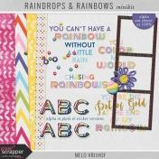 Raindrops & Rainbows- Minikit