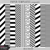 Paper Templates- Stripes 02