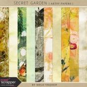 Secret Garden- Artsy Papers