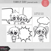 Family Day- Journal Cards