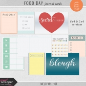 Food Day- Journal Cards
