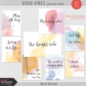 Good Vibes- Journal Cards