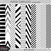 Paper Templates- Stripes 3