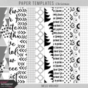 Paper Templates - Christmas