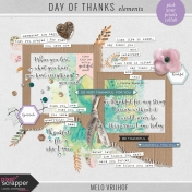 Day Of Thanks- Elements
