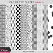 Paper Templates- Polkadot #3