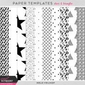 Paper Templates- Stars & Triangles