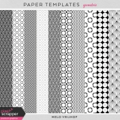 Paper Templates- Geometric