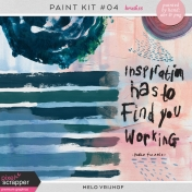 Paint Kit 4- Brushes