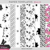 Paper Templates - Flowers 2