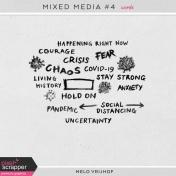 Mixed Media 4- Words