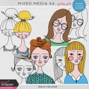 Mixed Media 6- Quirky Girls