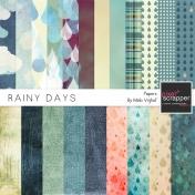 Rainy Days Papers Kit