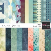 Rainy Days Papers Kit