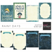 Rainy Days Journal Cards Kit