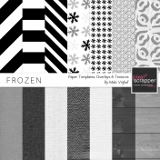 Frozen Paper Templates Kit