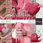 Be Mine- Cute Little Monsters Minikit