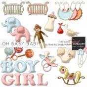 Oh Baby Baby Felt Elements Kit