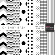 Oh Baby Baby Paper Templates Kit
