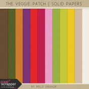 The Veggie Patch- Solid Papers