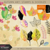 Autumn Art- Stamps & Doodles