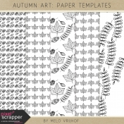 Autumn Art- Paper Templates