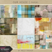 Our House Mixed Media Papers