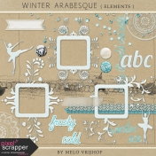 Winter Arabesque- Elements