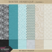 Winter Arabesque- Papers