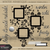 Winter Arabesque- Element Templates