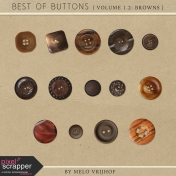 Best Of Buttons- Volume 1.2: Brown