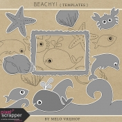 Beachy- Templates Kit