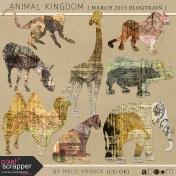 Animal Kingdom- Zoo Collage