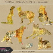 Animal Kingdom- Pets Collages