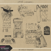 Jane - Stamps