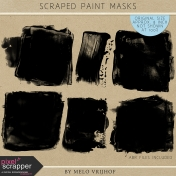Scraped Paint Masks