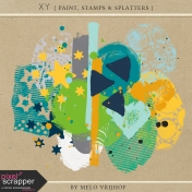 XY- Paint, Stamps & Splatter