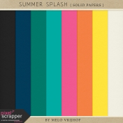 Summer Splash- Solid Papers