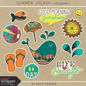 Summer Splash- Stickers