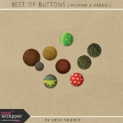 Best Of Buttons- Volume 2: Fabric
