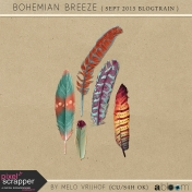 Bohemian Breeze- Feathers