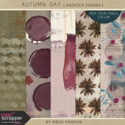 Autumn Day - Painted Papers